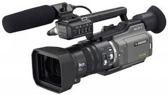 Видеозаснемане с нова камера - Sony DSR-PD 170