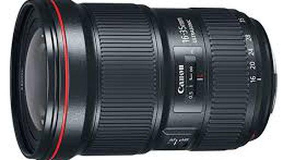 Видеозаснемане с нов обектив Canon EF 16–35mm f/2.8L II USM.