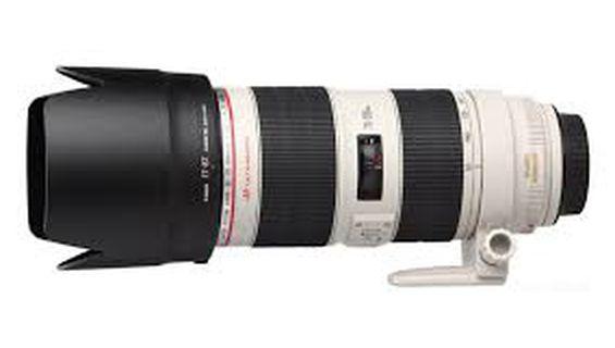 Видеозаснемане с висок клас обектив Canon EF 70-200mm f / 2.8L IS II USM.