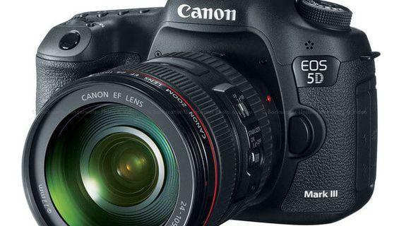 Трета камера от страхотния модел CANON EOS 5D MARK III