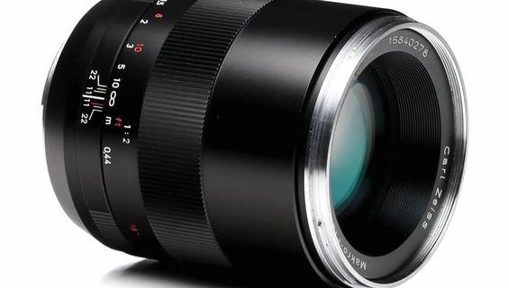 Нов страхотен обектив ZEISS Makro-Planar T * 100 mm f / 2 ZE за Canon