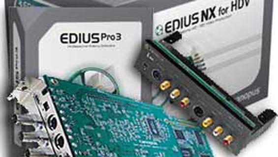 Осма станция за видеомонтаж Canopus EDIUS NX /PCIe/