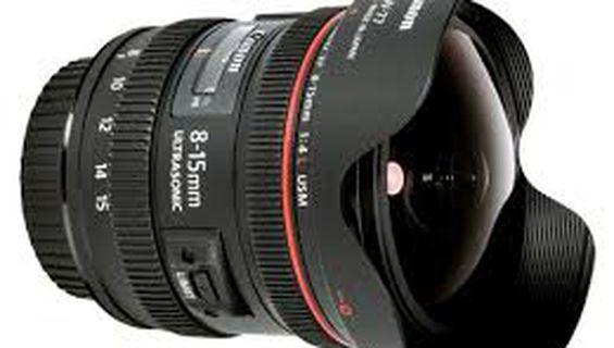 Нов обектив Canon EF 8-15mm f / 4L Fisheye USM