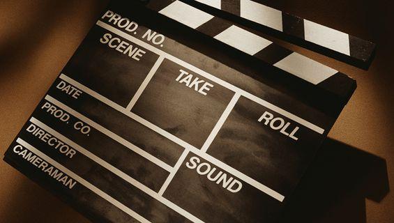 Видеозаснемане на рекламен филм.