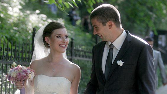 Заснемане на сватба - късметът се усмихна на Дима и Методи.
